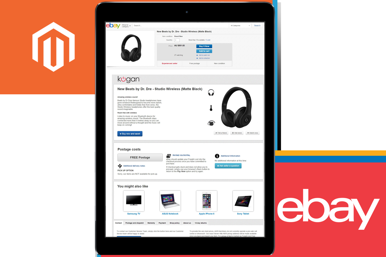 EBay Store Listing Templates For Magento Codisto LINQ - Ebay page template